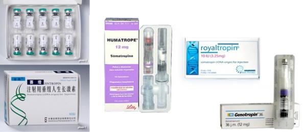 somatropina, hormona del crecimiento, royaltropin, genotropin, humatrope